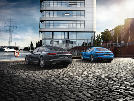The new Porsche Panamera. Courage changes everything.