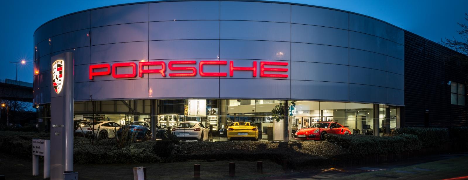 Porsche Centre Cardiff Homepage