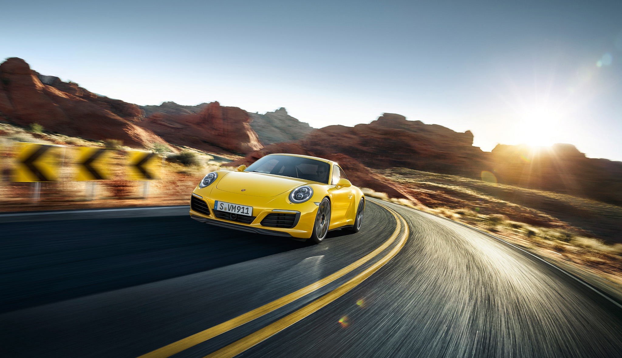 The new 911 Carrera 4S. Ever ahead.