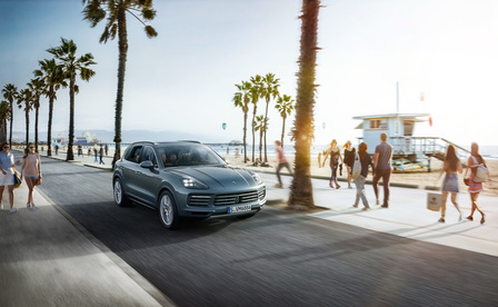 The new Cayenne.